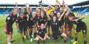 Mexico U-20 WNT after drawing Nigeria