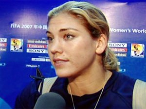 Hope Solo, WWC 2007